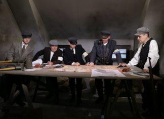 """Rekonstrukcja historyczna """"Potyczka na Saturnie"""" w Czeladzi - fot. Rowery Zabytkowe - Zabrze"""