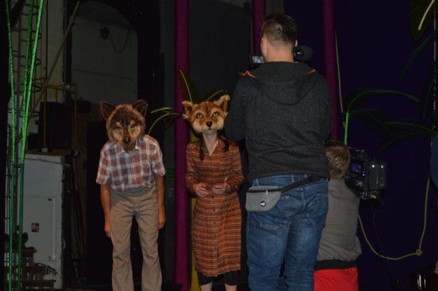 """Próba medialna przed premierą """"Nowej księgi dżungli"""" w Teatrze Zagłębia – fot. MZ"""