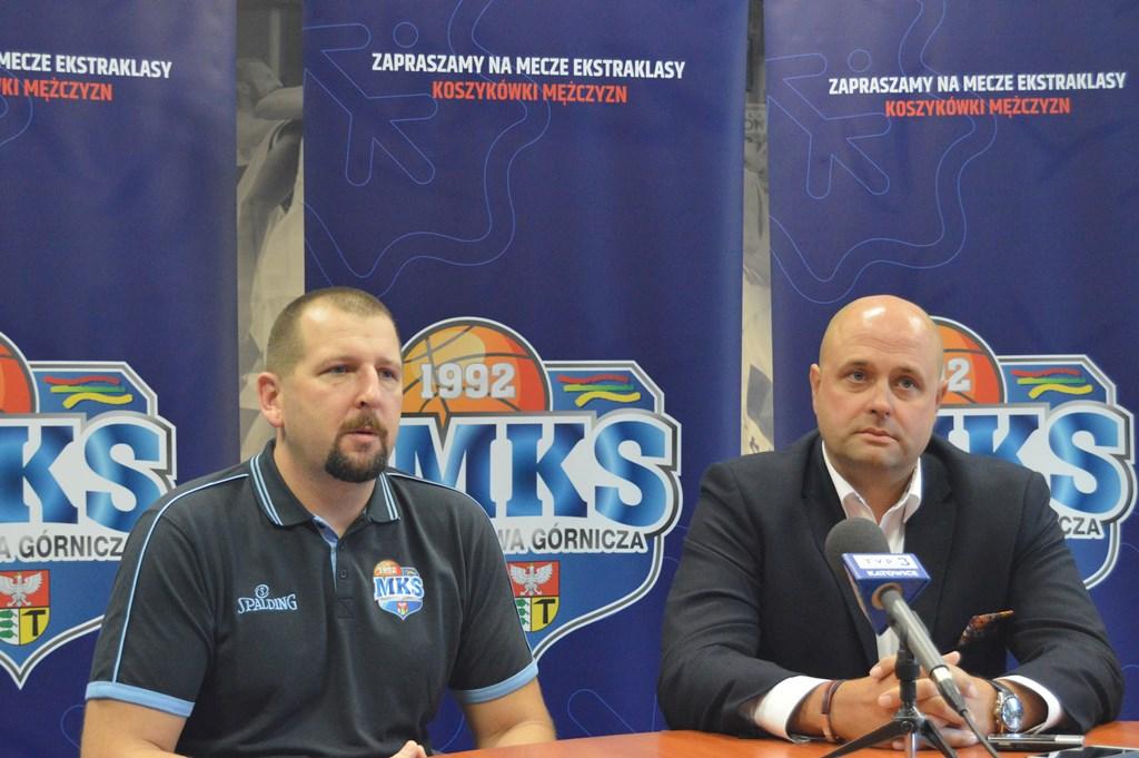 Konferencja MKS Dąbrowa Górnicza przed nowym sezonem - fot. MZ