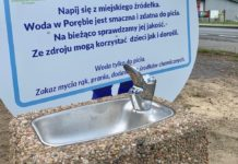 Pierwsze źródełko wody - fot. UM Poręba