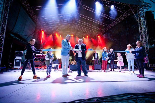 Otwarcie wyremontowanego amfiteatru w parku Grabek – fot. Marek Mierzwa