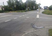 Przebudowa skrzyżowania na Warpiu – fot. UM Jaworzno