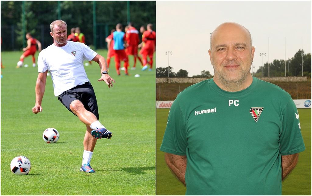 Robert Stanek i Piotr Caliński – fot. zaglebie.eu