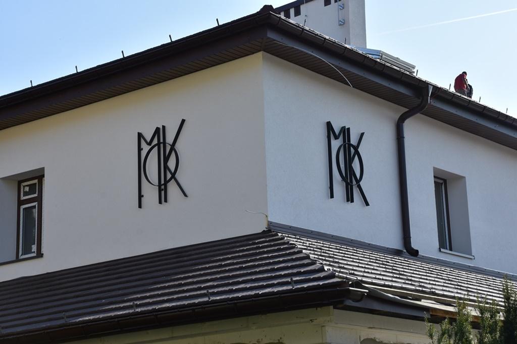 Trwa modernizacja MOK - fot. UM Sławków