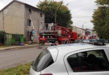 Wybuch gazu w domu w Wojkowicach – fot. Policja Będzin
