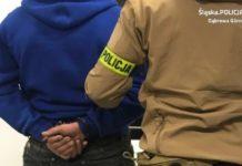 Wpadł w trakcie kontroli drogowej – fot. Policja Dąbrowa Górnicza