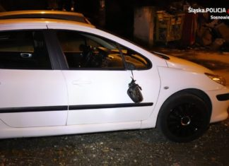 Zniszczył 14 samochodów – fot. Policja Sosnowiec
