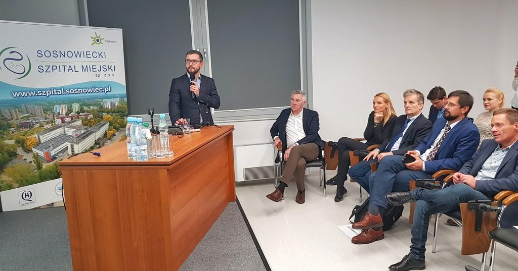 Wszczepienie endoprotezy stawu ramiennego w Sosnowieckim Szpitalu Miejskim - fot. mat. pras.
