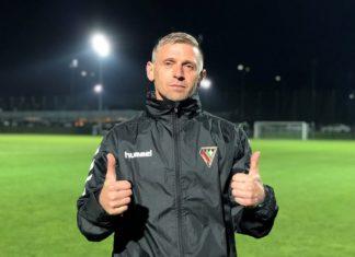 Marcin Malinowski został nowym asystentem Dariusza Dudka – fot. zaglebie.eu