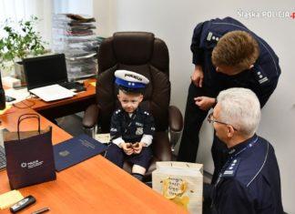 Kubuś został policjantem - fot. Śląska Policja