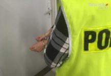 Zatrzymana - fot. Komenda Miejska Policji w Sosnowcu