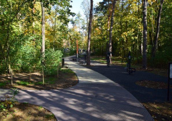Nowy park miejski - fot. Urząd Miasta i Gminy Siewierz
