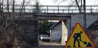 Remont wiaduktu - fot. UM Sławków