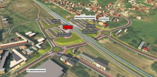 Przebudowa centrum Dąbrowy Górniczej – fot. UM Dąbrowa Górnicza