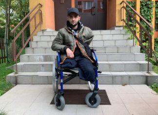 Igor Surma z Sosnowca stracił obie nogi i rękę – fot. arch. prywatne