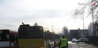 Pijany kierowca autobusu miejskiego - fot. KPP w Będzinie