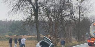 Tragedia na DK78 - fot. Facebook @Będzin112