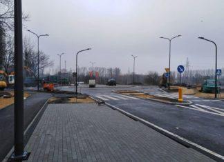 Rondo Ostrogórska i Jagiellońska w Sosnowcu - fot. UM Sosnowiec