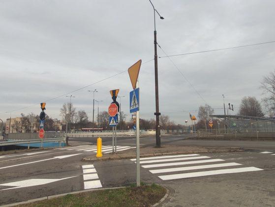 Rondo ul. Staszica Sosnowiec - fot. MC