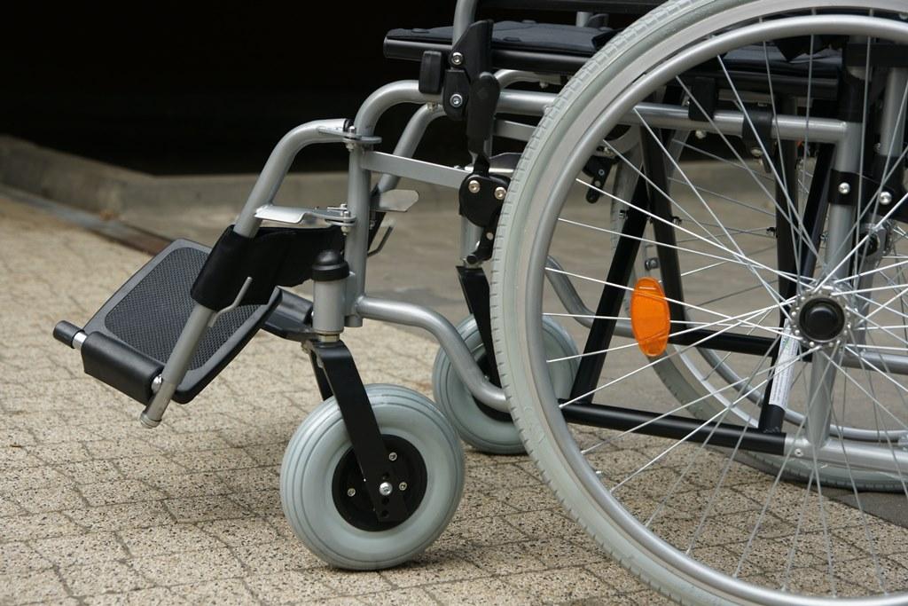 Wózek inwalidzki – fot. Pixabay