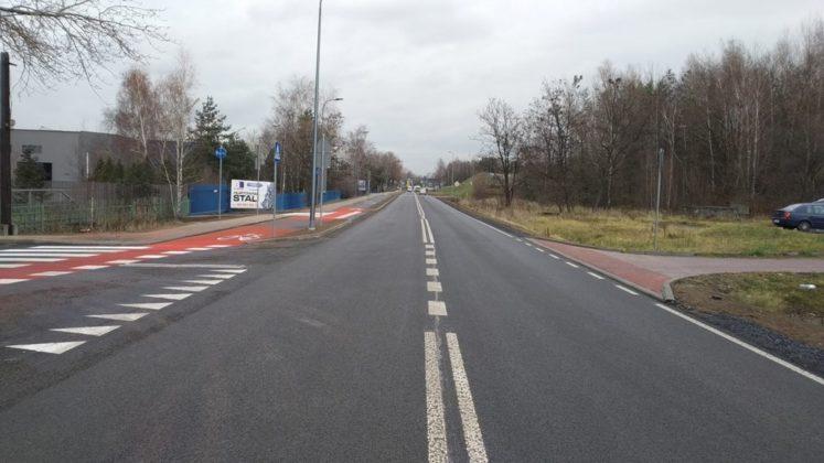 Przebudowa Roździeńskiego zakończona – fot. UM Dąbrowa Górnicza