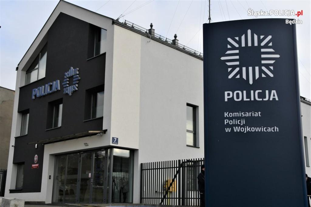 Nowy komisariat policji w Wojkowicach - fot. KPP w Będzinie