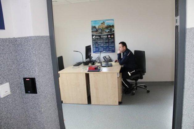 Nowy komisariat policji w Wojkowicach - fot. UM Wojkowice