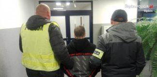 Seryjny włamywacz w rękach policji - fot. KPP w Będzinie