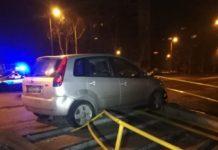Kompletnie pijany uciekał przed policjantami – fot. Policja Sosnowiec