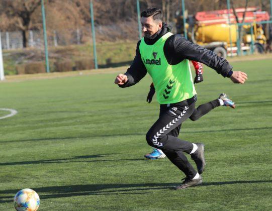 Piłkarze Zagłębia mają już za sobą pierwszy trening w 2020 roku – fot. zaglebie.eu