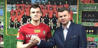 Markas Beneta nowym piłkarzem Zagłębia Sosnowiec – fot. zaglebie.eu