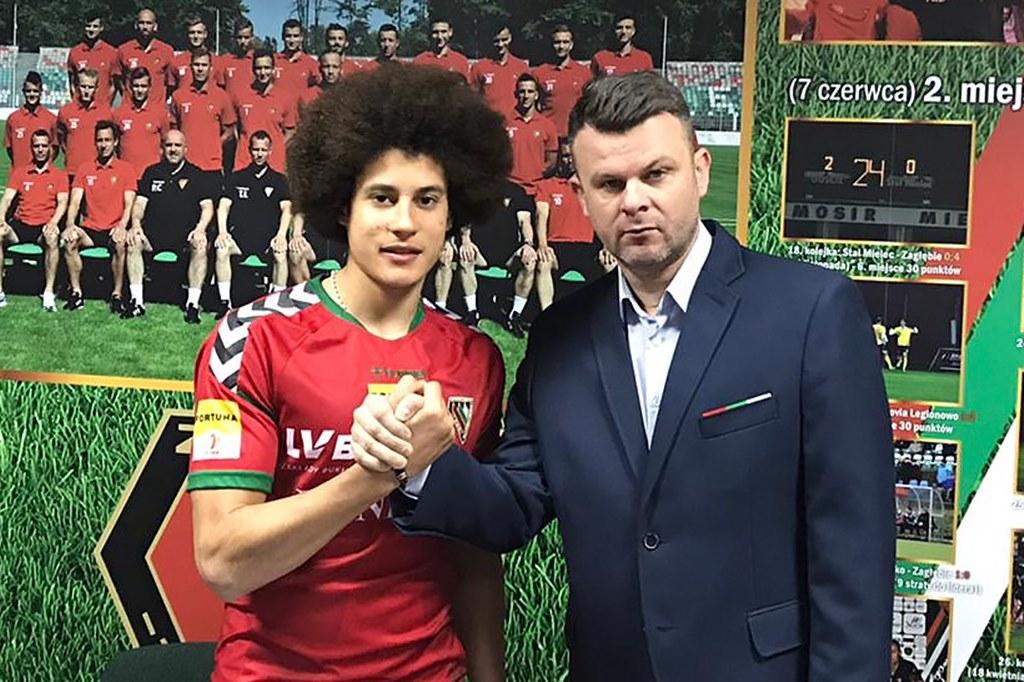 Carlos Miguel Quintais nowym piłkarzem Zagłębia Sosnowiec – fot. zaglebie.eu