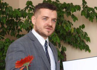 Burmistrz Wojkowic Tomasz Szczerba – fot. Facebook/Tomasz Szczerba