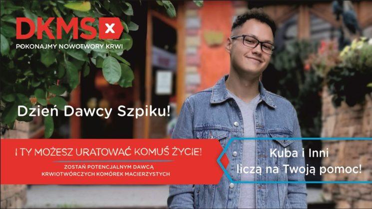 Kuba z Dąbrowy Górniczej choruje na białaczkę – fot. mat. pras.
