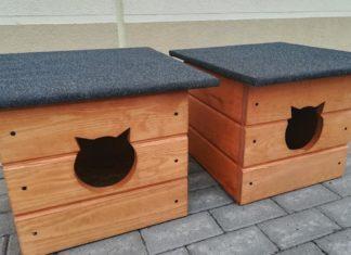 Budki dla kotów - fot. mat. pras.