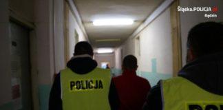 Diler narkotykowy zatrzymany - fot. KPP w Będzinie