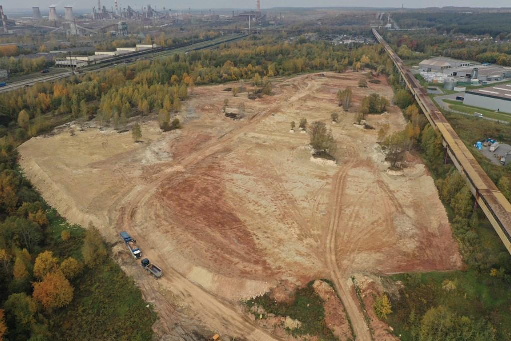Nowe tereny inwestycyjne na Kozdębiu – fot. UM Dąbrowa Górnicza