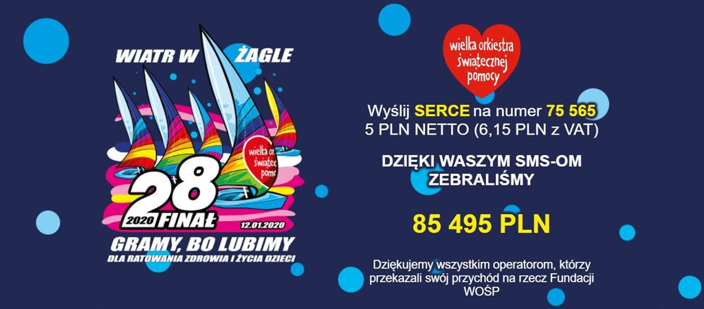 SMS na WOŚP – fot. mat. pras.