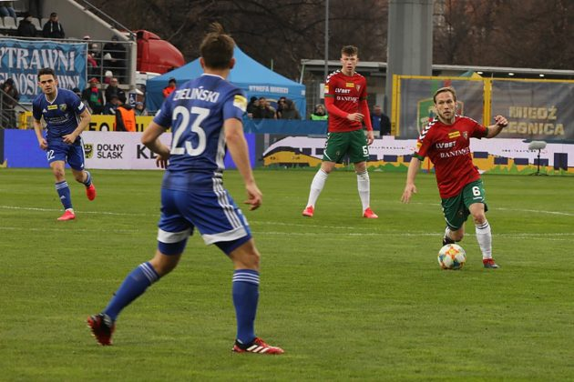Miedź Legnica - Zagłębie Sosnowiec 0:2 - fot. Marek Rybicki
