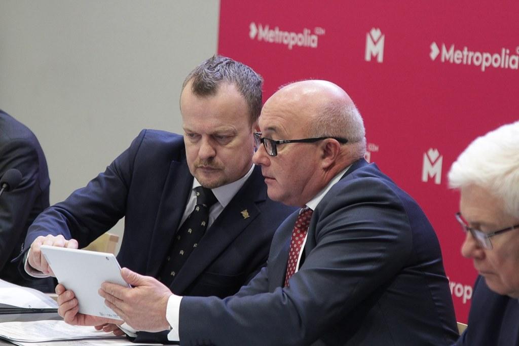 Arkadiusz Chęciński przewodniczącym zgromadzenia metropolii – fot. Metropolia GZM