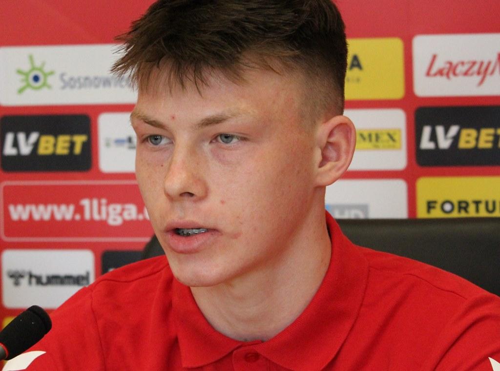 Kacper Łopata - fot. Andrzej Wydrychiewicz