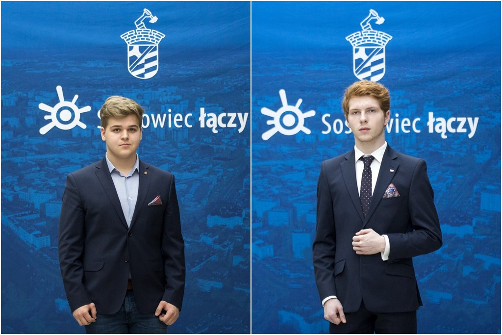 Jakub Kopeć i Dariusz Gozdek – fot. UM Sosnowiec