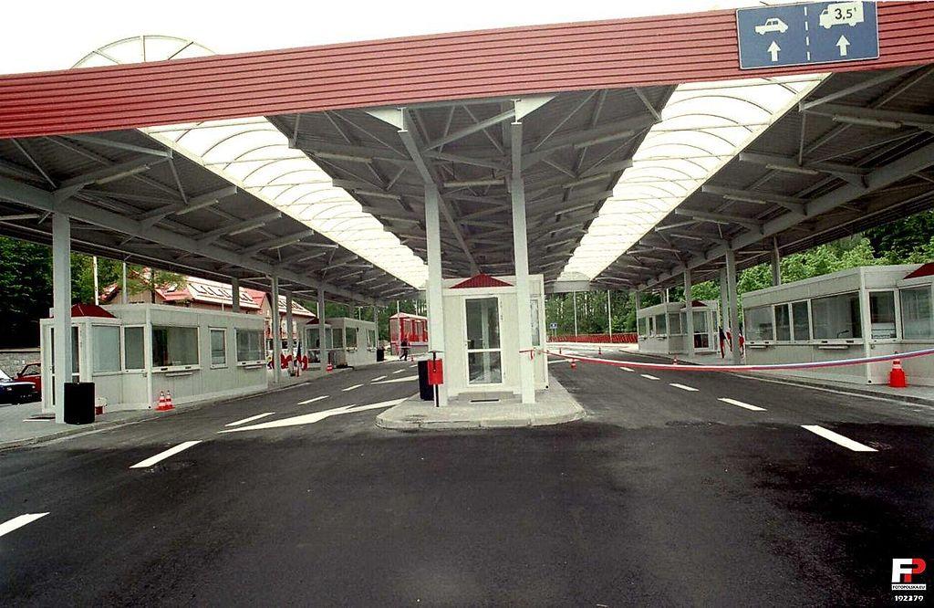 Przejście graniczne - fot. Wikipedia