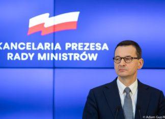 Premier Mateusz Morawiecki - fot. Adam Guz/KPRM