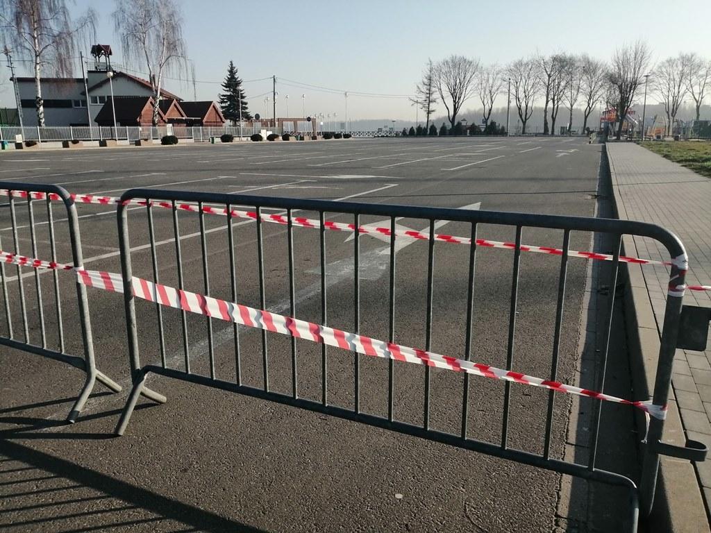 Zamknięty parking nad Pogorią III - fot. UM Dąbrowa Górniczej