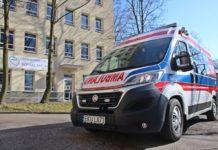 Ambulans dla sosnowieckiego szpitala – fot. UM Sosnowiec