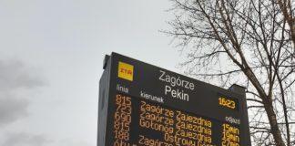 Trwa montaż tablic SDIP - fot. GZM