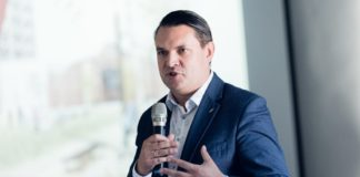 Prezydent Dąbrowy Górniczej Marcin Bazylak - fot. Radosław Kaźmierczak