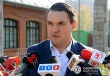 Prezydent Dąbrowy Górniczej Marcin Bazylak - fot. Dariusz Nowak