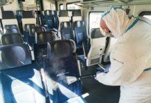 Koleje Śląskie czyszczą pociągi suchą parą - fot. Koleje Śląskie